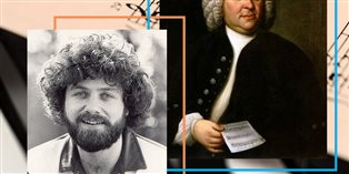Images of Keith Green and Bach