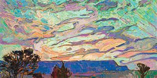 Detail: Erin Hanson, Desert in Color